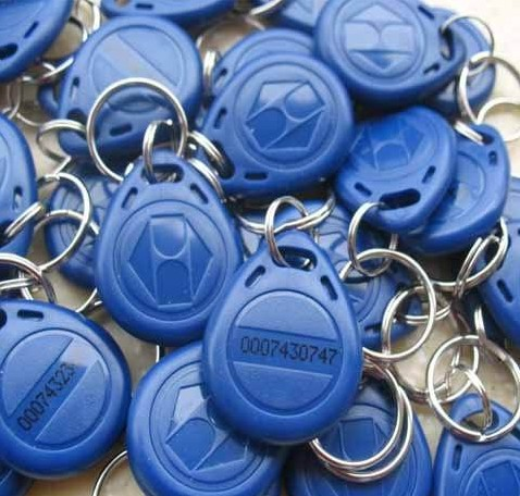 100pcs/lot High Quality Keychain Keyfobs EM RFID Cards Control Access Token Tag Key Ring Proximity Card 125Khz 1pcs lot access control 125khz usb rfid id em card keyfobs reader 5pcs em4100 keychain