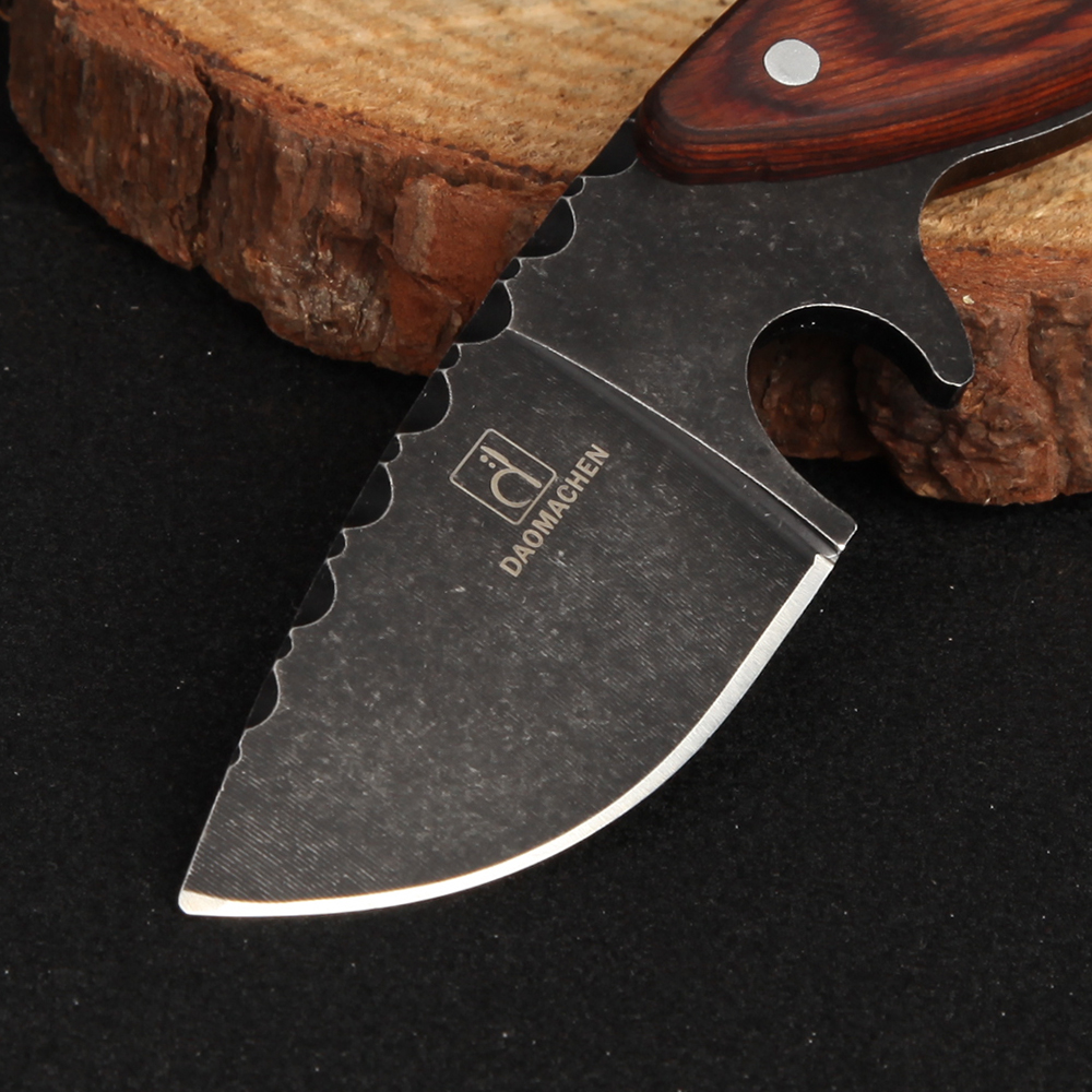 DAOMACHEN охотничий нож на открытом воздухе кемпинг выживания Ножи multi Дайвинг инструмент и камень мыть лезвие Бесплатная быстрая доставка