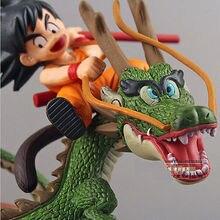 Цифры Игрушки Dragon Ball Z Супер Саян Гоку с Dragon Езда ПВХ Действий