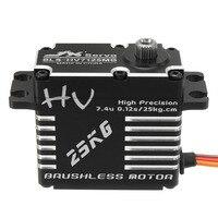 Best Sale JX BLS HV7125MG 25KG 180 Degrees Servo HV Steel Gear Digital Brushless Servo For