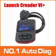 Fast and Free shipping! 100% Original Launch Creader 6+ VI Plus support JOBD OBD code scanner CREADER VI+ three year warranty(China)