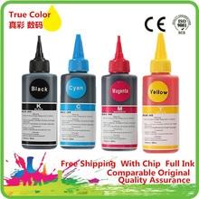 Dye Ink For T1711/T1811/T1281/T0921/T0711/T0731/T0481/T0821/T1291/T2621 Epson All Inkjet Printer Bulk