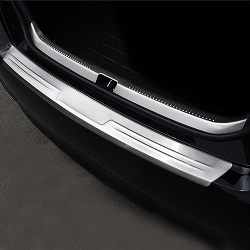 high quality stainless steel rear trunk bumper protector. Black Bedroom Furniture Sets. Home Design Ideas