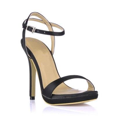 Plate As Stilettos T Show Une Chaussures Afficher Femmes Peep Boucle forme Gladiateurs Dame Sandales Haute Fille Toe Talons Concise Show Étoiles as Événement gqCwxF5C