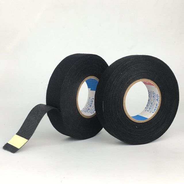 Pleasing Yc Black Color 1Roll 19Mm X 15M Wiring Harness Tape Strong Adhesive Wiring 101 Cranwise Assnl