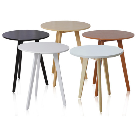 Cafe Tables Cafe Furniture Solid Wood Round Table Coffee Table Assembly  Desk Minimalist Modern W48.5*H60cm/W60*H60cm/W60*H70cm  In Café Tables From  ...