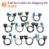 Full Set Cable for Digiprog III Digiprog 3 Odometer Programmer