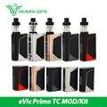 Original joyetech evic primo 200 w kit w/unimax 25 tanque de 5 ml bfxl bobina smok cigarrillo electrónico 200 w evic mod vs primo tc extranjero
