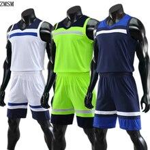 ZMSM/Детские баскетбольные майки для взрослых; комплект детской спортивной одежды; мужская баскетбольная форма смешанных цветов; тренировочный жилет и шорты; JY828