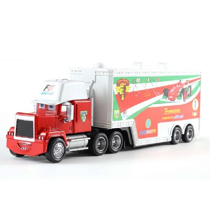Disney Pixar Car 2 3 Toys 26 Optional Mac Uncle Truck 1:55 Injection Car Model Car Toy Christmas Gift