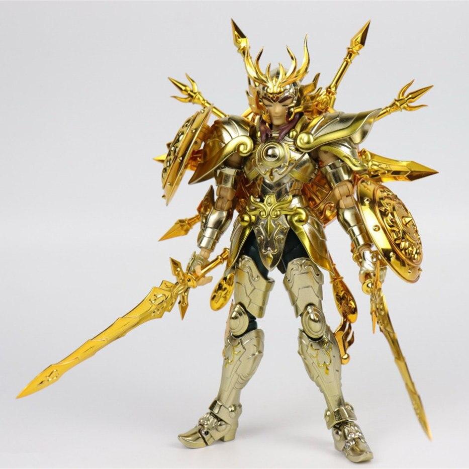Image 3 - CS Model Saint Seiya Cloth Myth Soul of God SOG EX Gold Libra Dohko metal Cloth SC014Action & Toy Figures   -