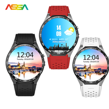 Men's Watch Men KW8 Support 3G4G Wifi Nano SIM Smart watch phone Wearable Devices Heart Rate Monitor Wrist watches PK Dz09 Gt08