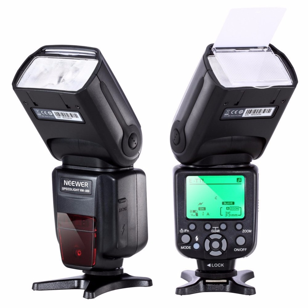 NEEWER TR-988 Professional Speedlite TTL Camera Flash with *High Speed Sync* for Canon and Nikon Digital SLR Cameras профессиональная цифровая slr камера nikon d3200 18 55mmvr