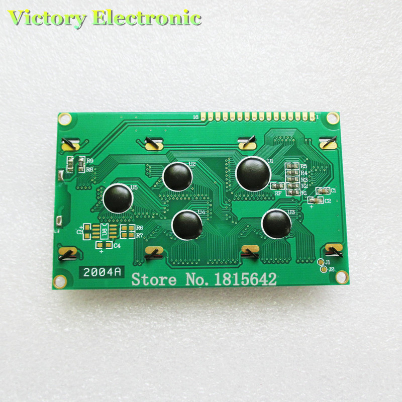 Ultimate SaleLcd2004-Display 20X4 Lcd-Board Blue-Screen Electronic 5V Blacklight 20--4 Wholesale†