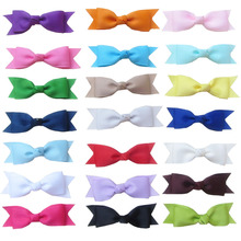 42pcs/lot 3.5″ Cheer Bows Girls Boutique Ribbon Hair Bow Without Clips Wholesale Hair Accessories