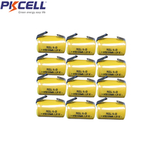 12pcs pkcell 4/5 SC battery 1200mah  Rechargeable Battery 1.2V 1200mAh power bank Ni-Cd 4/5SC accumulator все цены