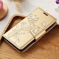 KISSCASE Телефон Case для Samsung J5 2016 Крышки PU Кожаный Флип обложка Для Samsung Galaxy J510 J5 2016 Case Стента Слот Для Карт Coque