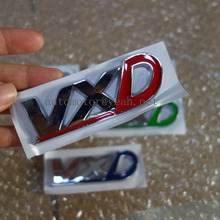 VXD Car Rear Trunk letters emblem Stickers Logo Badge Decals For Vauxhall CORSA ASTRA VECTRA ZAFIRA