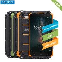 Jeasung P9000 Max 4GB 64GB IP68 Waterproof shockproof 4G SmartPhone 5.5 FHD MT6750V Octa Core 13MP NFC OTG Fingerprint
