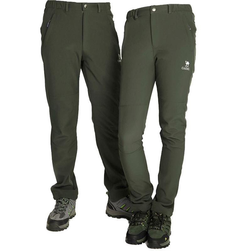 Prix pour Freeshipping Hiver Sport Polartec Extérieure Ski Softshell Pantalons Hommes De Pêche étanche randonnée Pantalon Pantalon femmes