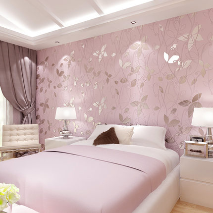 The Living Room Wallpaper Color Television Background Wall Paper 3d Stereo Simple Modern Bedroom Wallpaper 0 53