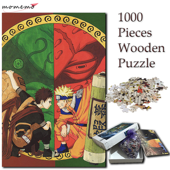 momemo a ship to sail adult puzzles 1000 pieces wooden puzzle jigsaw puzzle games landscape puzzles wooden toy for children kids MOMEMO Gaara and Naruto Jigsaw 1000 Pieces Puzzle Wooden Puzzles Cartoon Anime NARUTO Pattern 1000 Pieces Puzzle Games for Kids