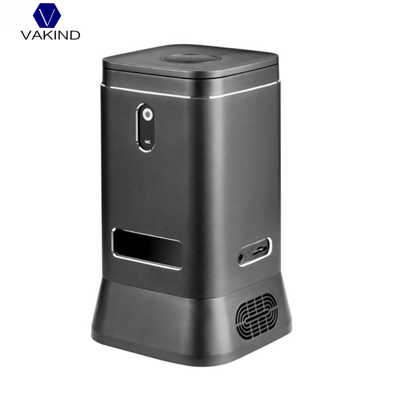 VAKIND V6B Fanless Mini Computer Mini PC 2MP HD Camera Quad Core 4+64G Windows 10 HDMI 4K WiFi Bluetooth Computer Host цена 2017