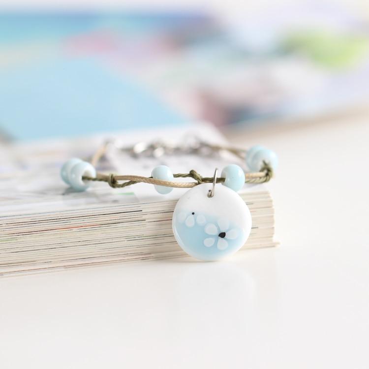 Paysage Marin Tons Bleu Bijoux en Perles Mélange Kit de Démarrage Set 80g