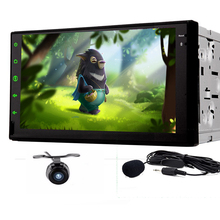 Quad Core 1024*600 Android 5.1CPU 2Din Car Stereo GPS No-DVD Player 7″ Tablet Double DIN Radio BT 3G WiFi Radio16g ROM