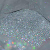 """50g 0.2MM(1/128"""")008inch Fine Holographic colorful Silver Nail Art Glitter Dust Powder Hexagon Shape for Nail Art  decoration,UY"""