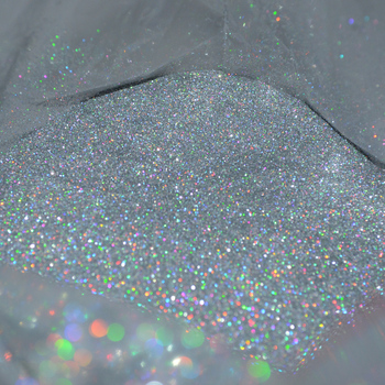 50g 0.2MM(1/128)008inch Fine Holographic colorful Silver Nail Art Glitter Dust Powder Hexagon Shape for Nail Art  decoration,UY 10g 008inch holographic nail art glitter dust powder ultra fine holo nail glitter powder for nail art decoration