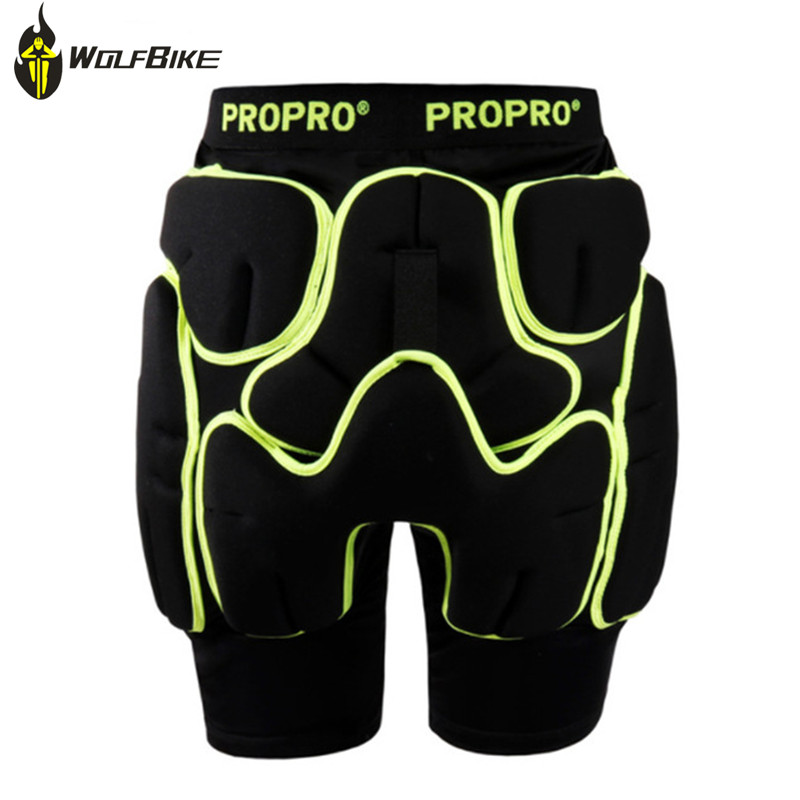 PROPRO Protective Snowboard Shorts Rubber Ski Hip Protector Brace Roller Cycling Bike Hockey Outdoor Extreme Sports