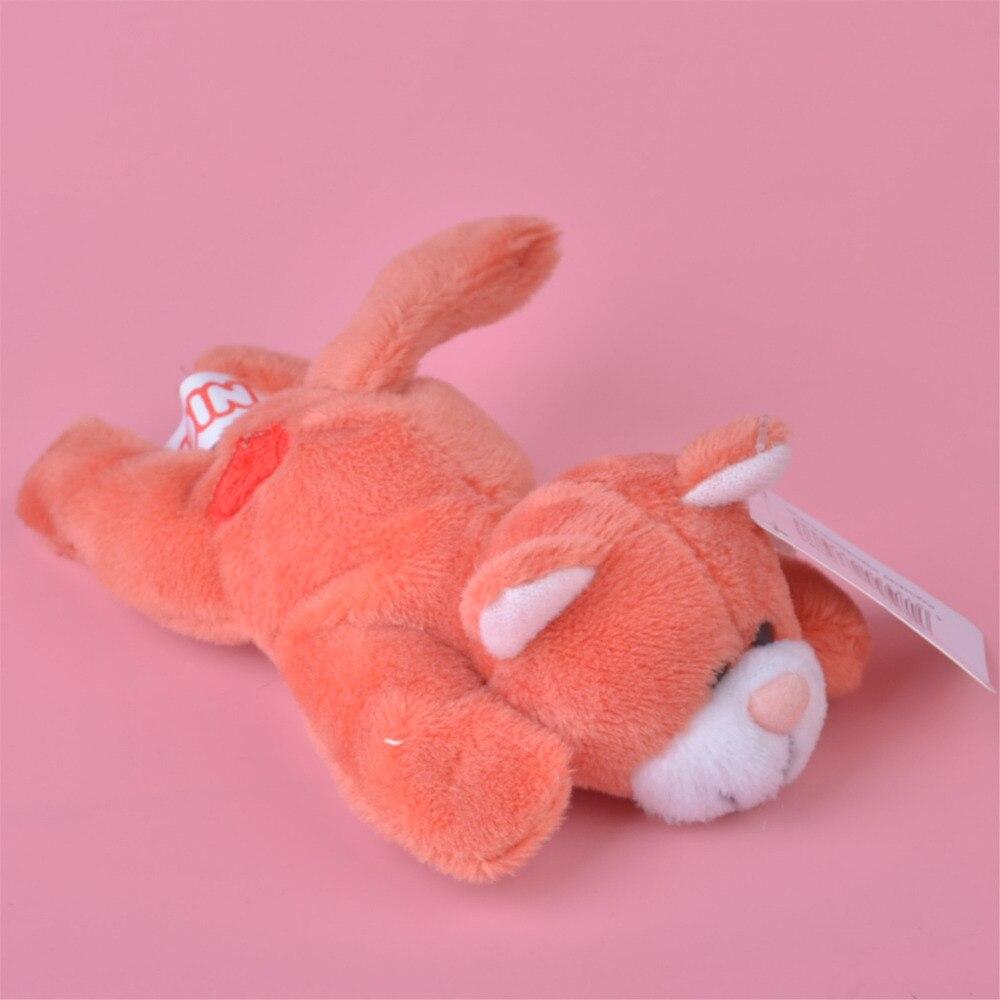 3 шт. оранжевый Цвет виверры плюшевые магнит на холодильник игрушка, дети ребенок кукла подарок бесплатная доставка
