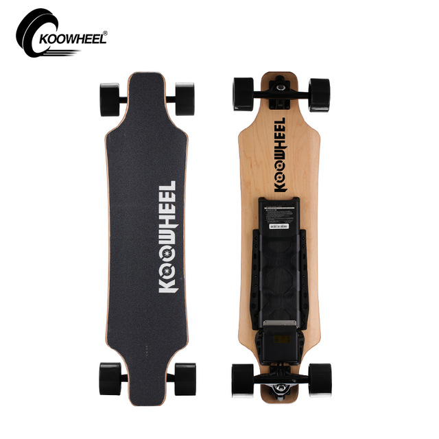 Koowheel Update Versão 4 longboard Rodas Elétrica Scooter Elétrico 5500 mAh Bateria Removível De Lítio Carregável & Skate