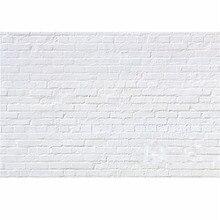 7x5FT Винил Фотографии Фоном Белая Кирпичная Стена Для Фотостудии Реквизит Фотографические Фонов Ткани 2.1 м х 1.5 м