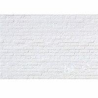 7x5ft винил фотографии Задний план белая кирпичная стена для студии реквизит для фотосессии фотографические фонов Ткань 2.1 м x 1.5 м