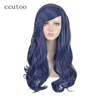 Ccutoo 14 Women S Black Short Pear Hairstyles Oblique Fringe Synthetic Hair Cosplay Full Wigs Perrque