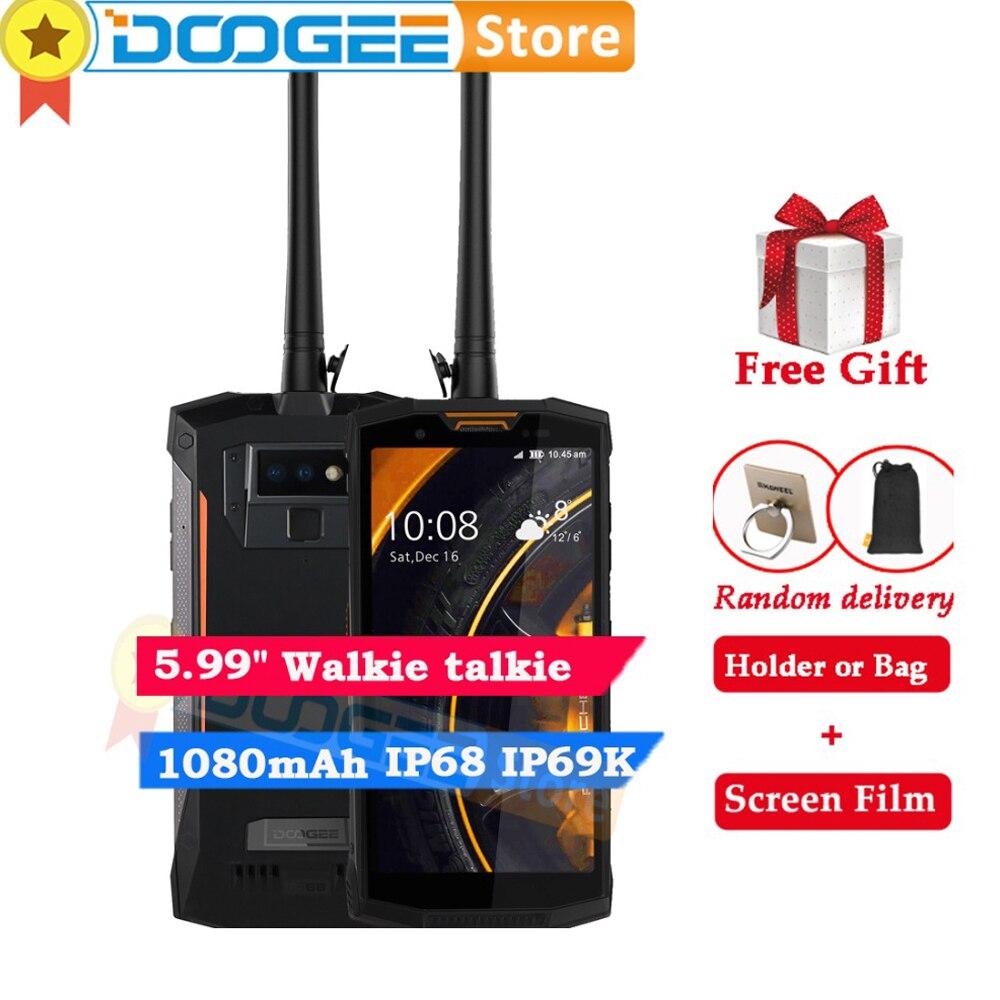 Doogee S80 lite Dual 4G 64G IP68 IP69K 10080mAh 5 99 MT6763 Octa Core 13MP 8