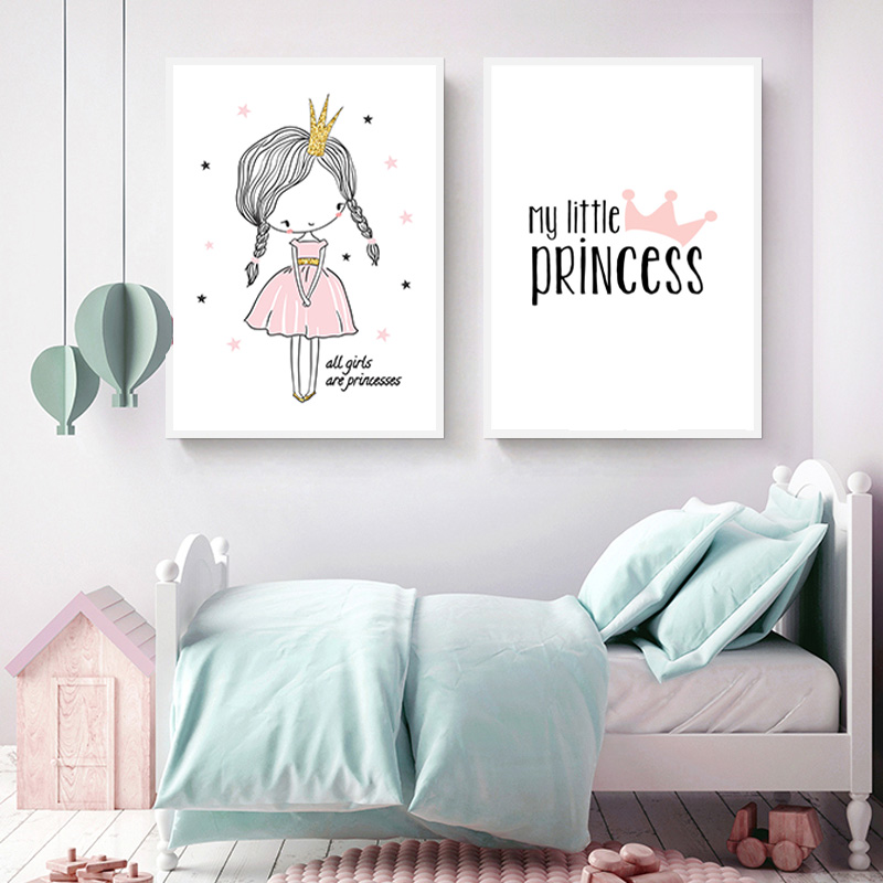 girl room wall art