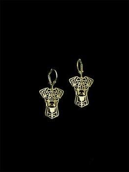 Trendy German Pinscher Dog Drop Earrings For Women Gift - discount item  40% OFF Fashion Jewelry