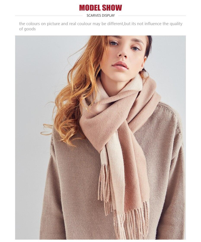 HTB1.LQFJH9YBuNjy0Fgq6AxcXXax - [VIANOSI] 100% Wool Scarf Women Winter Scarves Brand Foulard Femme High Quality Solid Tassel Bufandas Invierno Mujer 2018