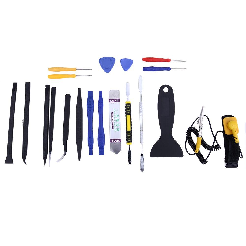 20 pçs/set alta precisão multi tipo chaves de fenda conjunto kit reparo do telefone ferramentas manuais para iphone smartphone telefone móvel computador