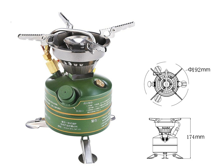 BRS Camping Stove CookingCooker Simple Oil Stove Non-Preheating Stove BRS-29B brs 29 free shipping camping outdoor stove gasoline stovesimple oil stove non preheating stove