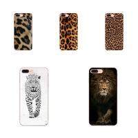Tiger Leopard Tpu Gummi Hohe Qualität Telefon Abdeckung Für Apple iPhone 4 4S 5 5C 5S SE 6 6S 7 8 Plus X XS Max XR