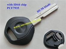 B  transponder key with ID44PCF7935 chip (HU58)& transponder key for car key chip key