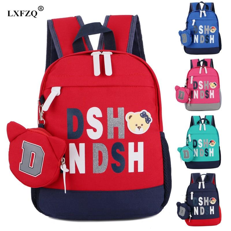 School Bag Backpack Boys Bag Big Size School Backpacks Orthopedic School Bags Mochila Escolar Children's Backpack Bags For Girls