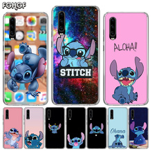 Disneys Stitch Silicone Back Case For Case For Huawei P30 P20 Mate 20 10 Pro