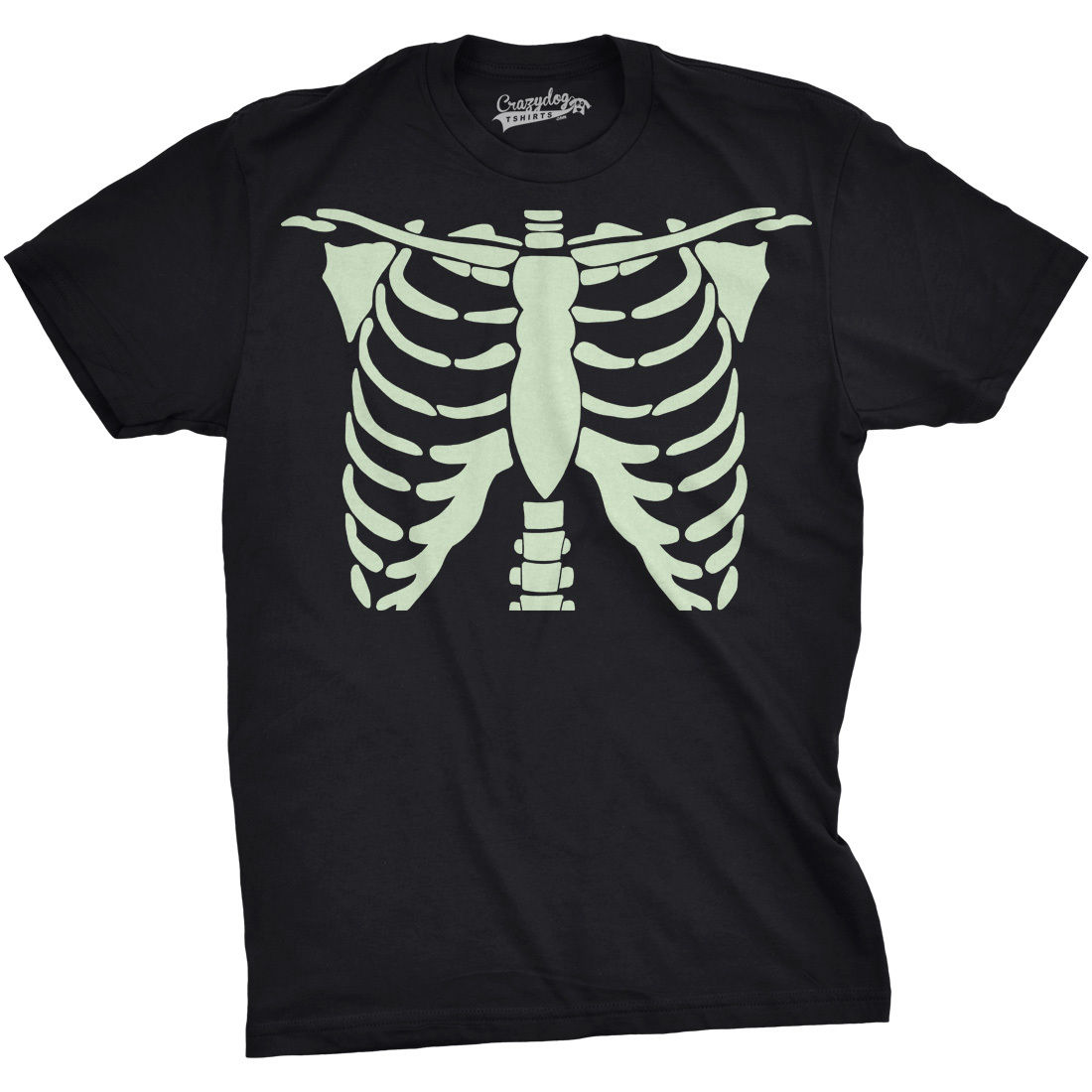 Mens Glowing Skeleton <font><b>Rib</b></font> Cage Cool Halloween T Shirt New Men'S Fashion <font><b>Short-Sleeve</b></font> <font><b>T-Shirt</b></font> Mens Print Cotton High Quality