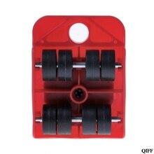 Прямая поставка и перемещает мебельный инструмент транспортный переключатель движущиеся колеса слайдер съемник ролик тяжелый APR29