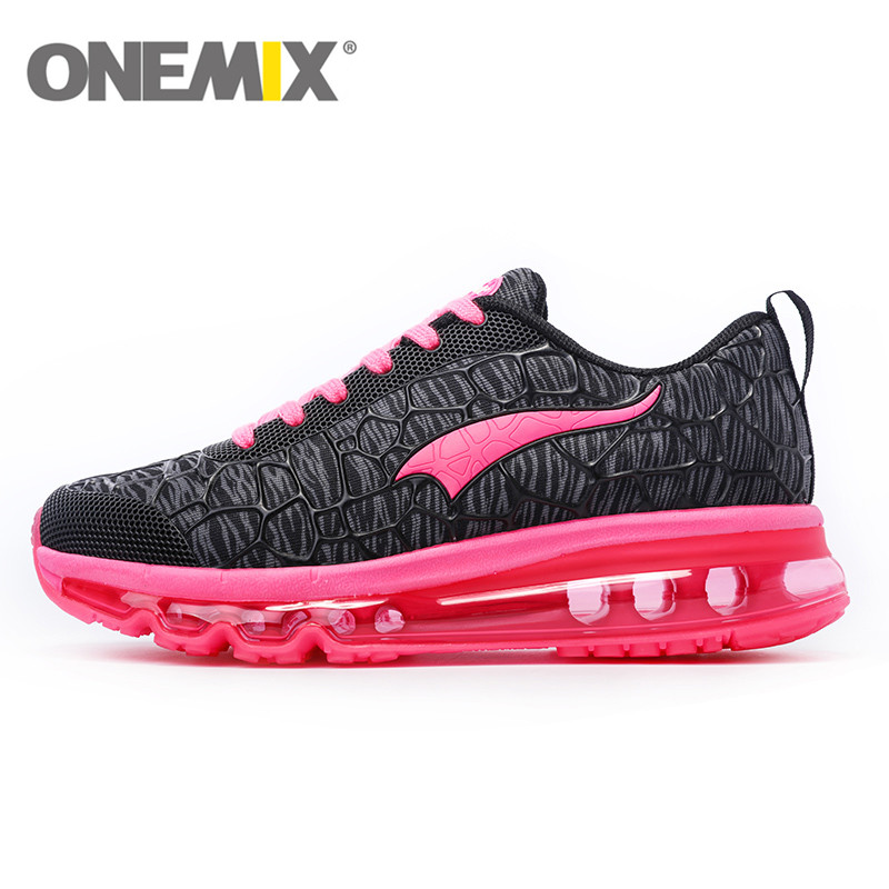 ONEMIX Running Shoes for Women Sneakers Athletic Air Cushion Outdoor Sport Shoes Zapatillas Deportivas Mujer